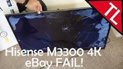 Hisense M3300 4K TV: eBay FAIL!