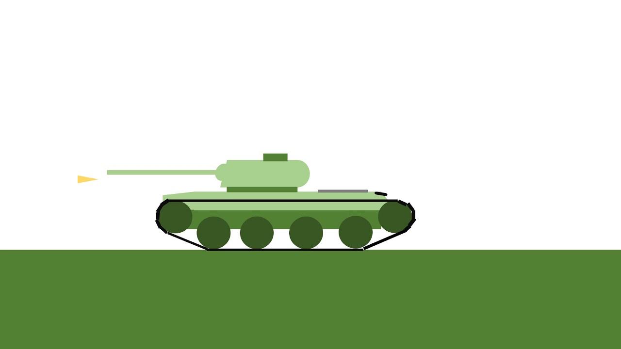 Ладошках, анимации картинки танков