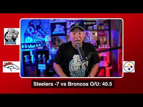Pittsburgh Steelers vs Denver Broncos NFL Pick and Prediction 9/20/20 Week 2 NFL Betting Tips