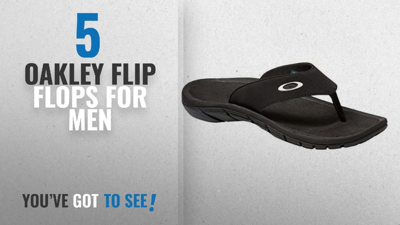 f306443f55b2 Top 10 Oakley Flip Flops For Men   Winter 2018    Oakley Mens Super ...