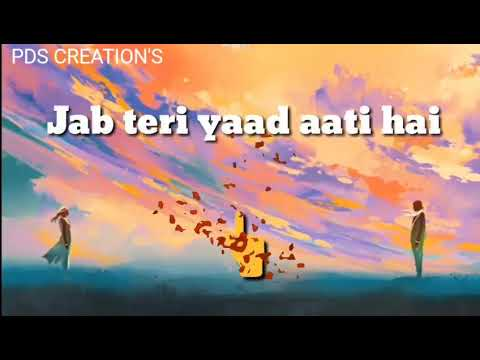 Ek Baat Satati Hai Jab Teri Yaad PDS CREATION'S