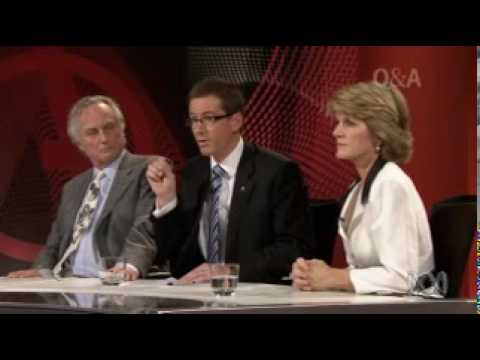 Q and A - Adventures in Democracy (Panel Includes Richard Dawkins) (Part 5/6)