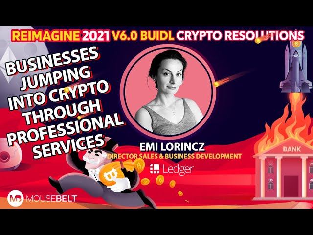 Emi Lorincz - Ledger - Business' Come Looking For Blockchain Solutions