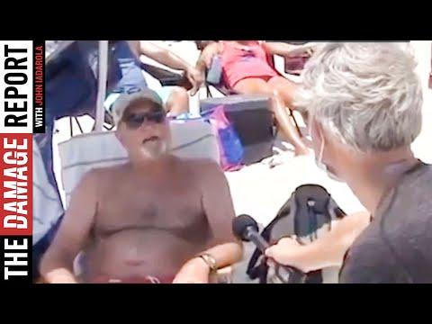 INSANE Alabama Beachgoers Justify Not Wearing Masks