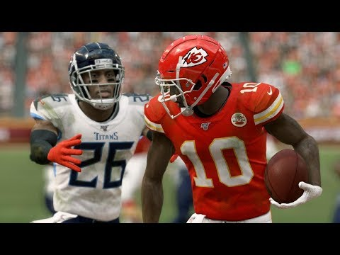 Chiefs Vs Titans Full Game | NFL Today Live 1/19 | 2020 AFC Championship (Madden)