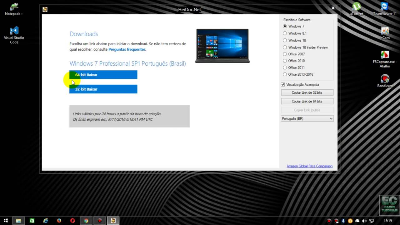 Microsoft Windows and Office ISO Downloader