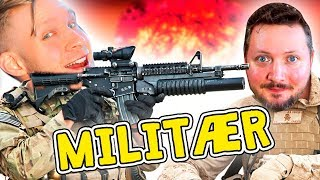 AT WAR WITH GENERAL COMKEAN! -English Roblox: Two Player Military Tycoon