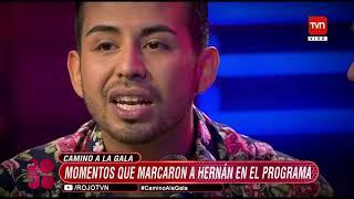 Rojo el color del talento descubre el camino  de Hernán Arcil para llegar a la Gala GD