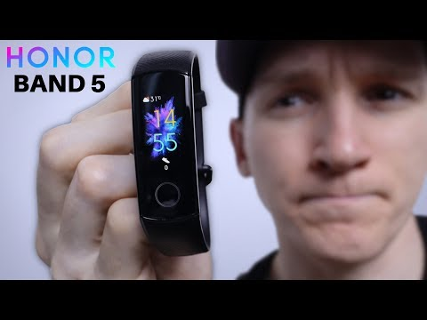 Honor Band 5 Unboxing and Review!