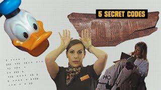 5 Secret Codes Hidden in Plain Sight