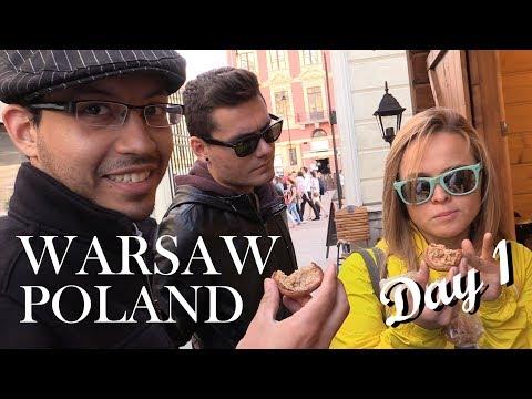 TRAVEL VLOG: Warsaw Poland   Day 1