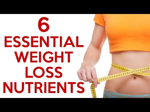 6 Essential Nutrients for Weight Loss! Diet Tips, Health, Green Superfood Powder, Supplements