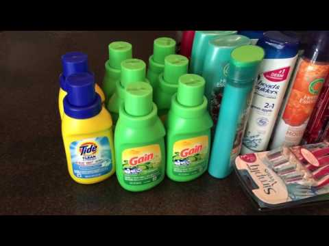 FREE GAIN LAUNDRY DETERGENT – Dollar tree coupon haul – Hurry exp 8/20!