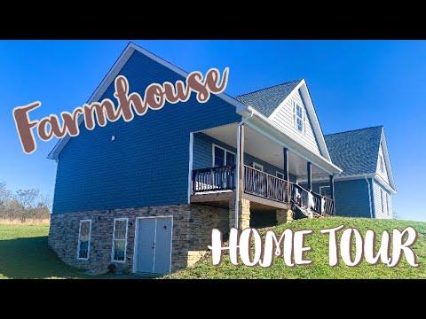FARMHOUSE HOME TOUR (2019) // MODERN HOME TOUR // FURNISHED HOME TOUR