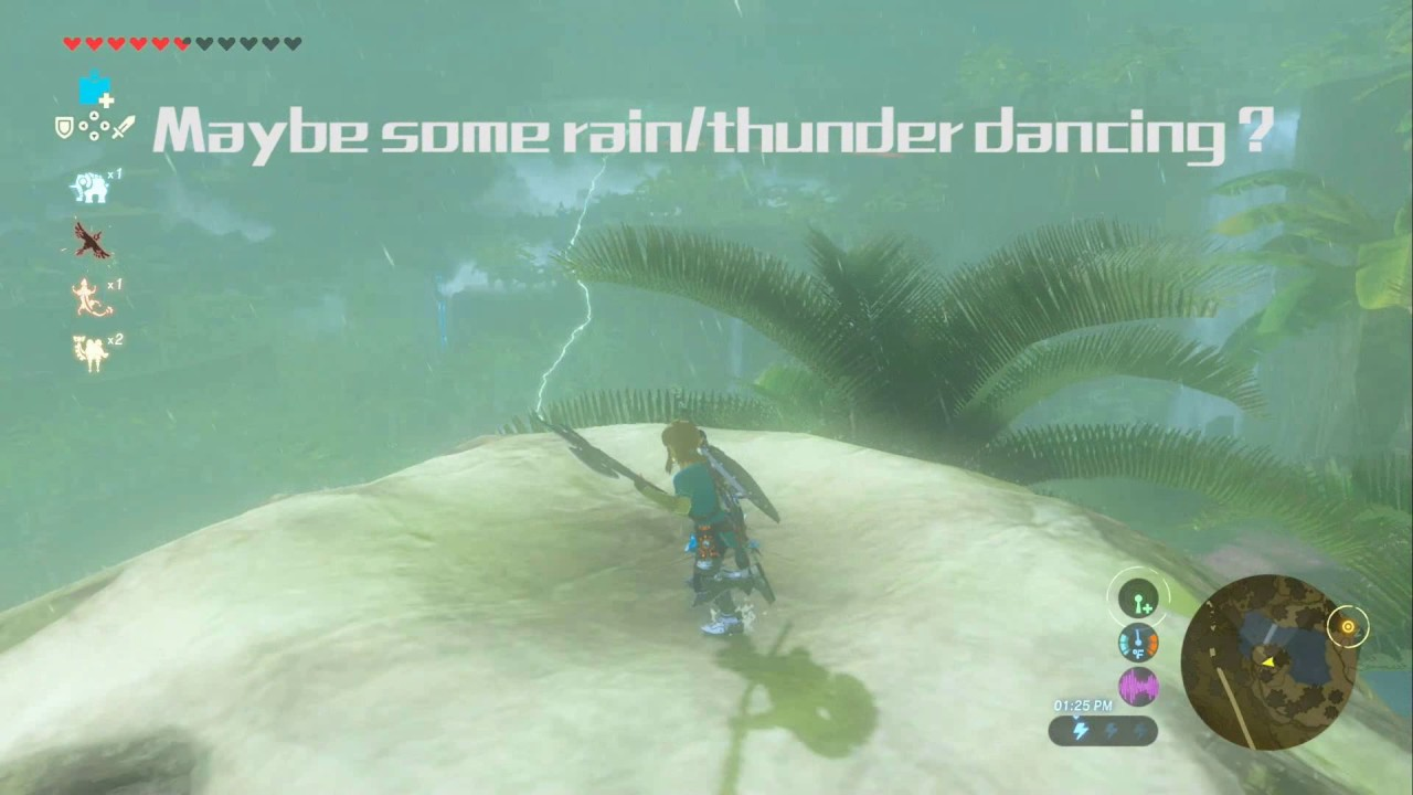 Zelda Breath Of The Wild A Song Of Storms Youtube