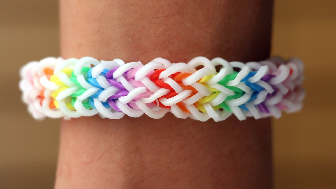 Rainbow Loom Nederlands - Quadzilla || Loom bands, rainbow ...