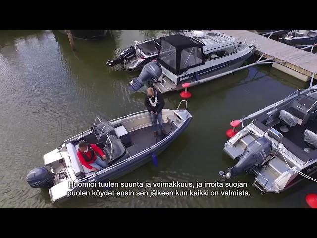 Laiturista lähtö –Buster veneilykoulu