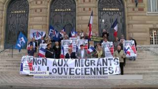 Migrants : mobilisation contre le camp de Louveciennes