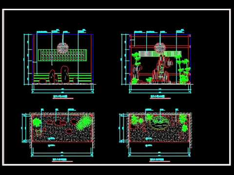 【Autocad Block Download】Gardening landscape design V2.wmv ...