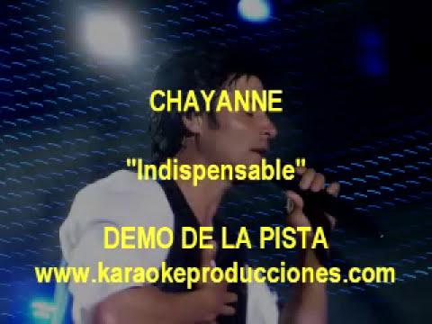 Chayanne - Indispensable DEMO PISTA KARAOKE