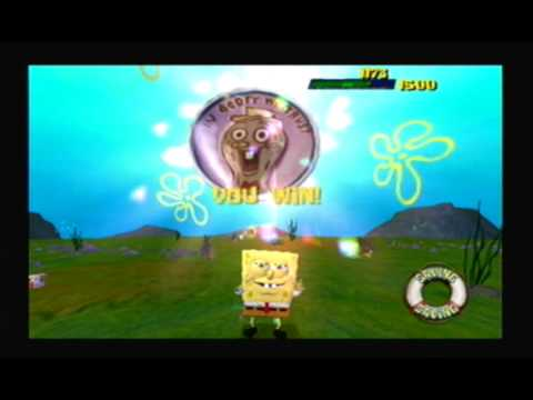SpongeBob SquarePants: The Movie Game 100% Walkthrough - Part 2 - I'm Ready...Depression (1/2)