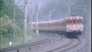 中央西線 架線下のキハ58系 急行『赤倉』2