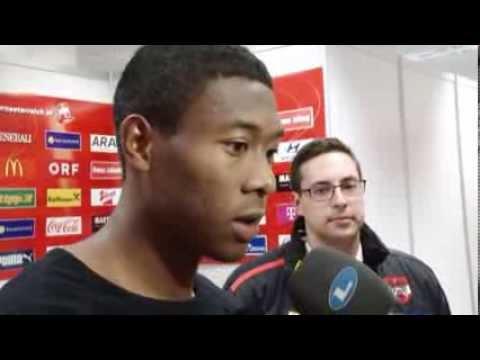 """Fuchs & Alaba im Interview: """"2014 weiter Vollgas geben""""   Österreich vs. USA 1:0"""