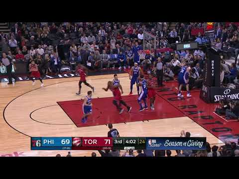 Philadelphia 76ers vs Toronto Raptors : December 5, 2018