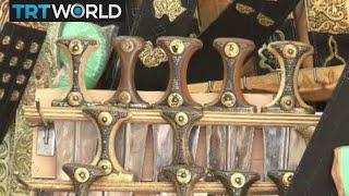 Yemeni Ceremonial Daggers: Daggers widely used in Yemen despite turmoil