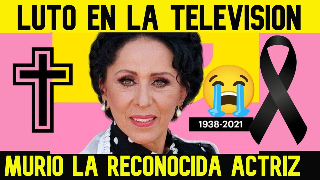 TRISTE NOTICIA! MURIÓ LA RECONOCIDA ACTRIZ MEXICANA LILIA ARAGON💖🖤🖤