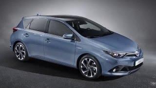 2017 Toyota Auris interior exterior in depth review