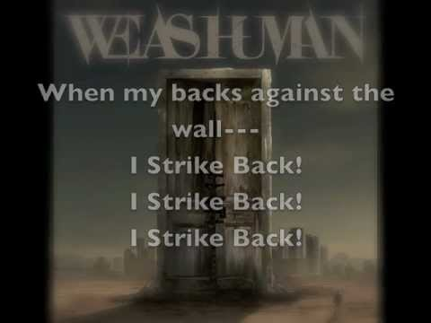 We As Human - Strike Back Lyrics