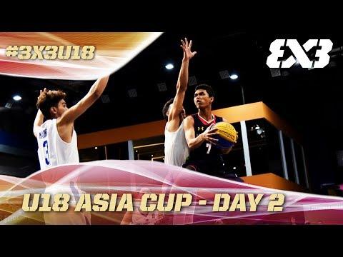 FIBA 3x3 - U18 Asia Cup 2017 - Pool Phase - Re-Live - Day 2 - Cyberjaya, Malaysia