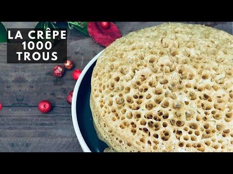 recette-baghrir-marocain,-la-crÊpe-À-mille-trous-/-moroccan-pancakes-recipe