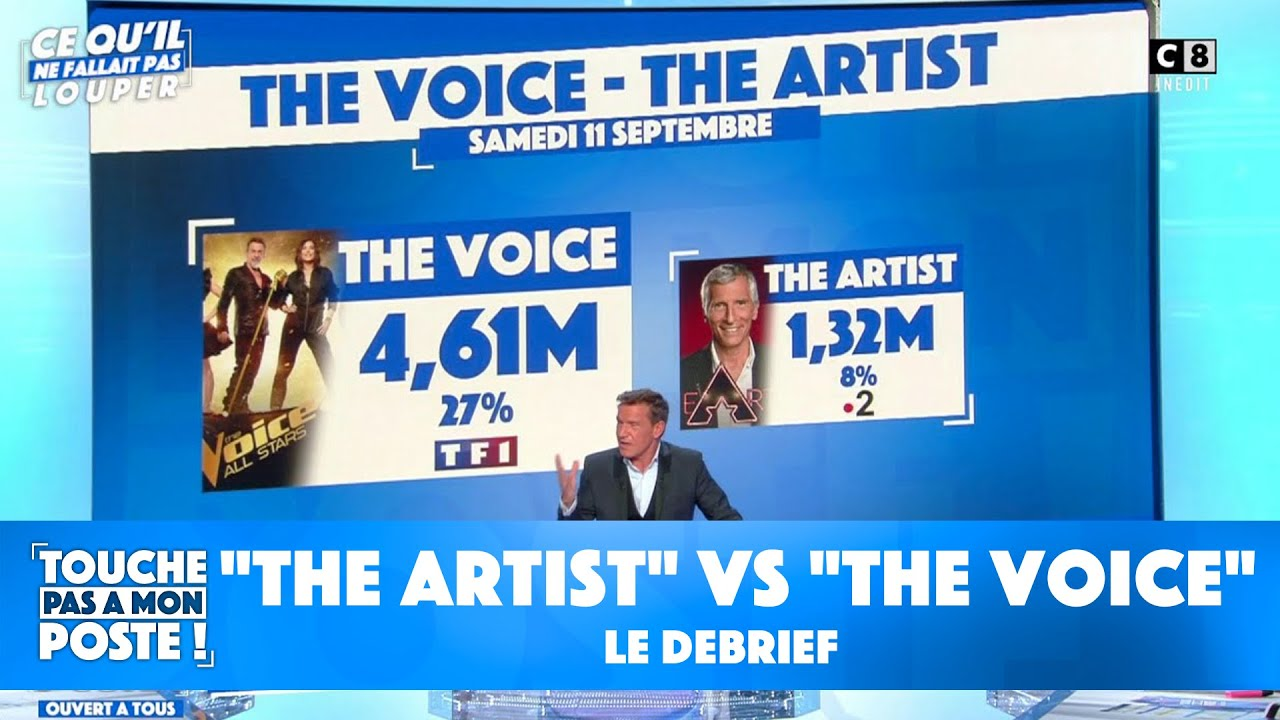"""Replay TPMP : """"L'artiste"""" VS """"La voix"""" : le débrief"""