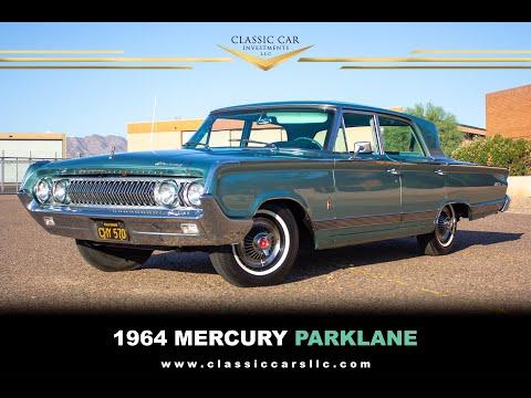 SOLD: 1964 Mercury Park Lane Breezeway Sedan - Beautifully Restored - Loaded - Rare!!!