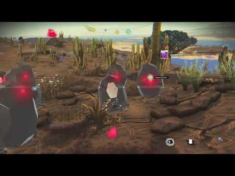 NMS Organic Rock Mordite gameplay