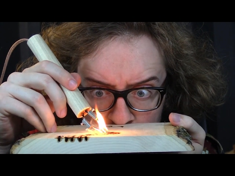 1000 DEGREE PEN vs WOOD (pyrography)