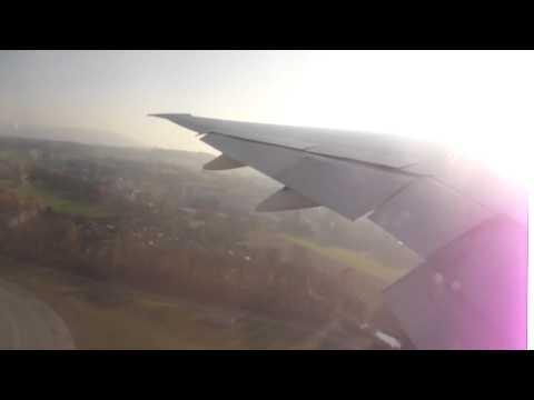 Boeing 777 taking off from Zurich,Switzerland(EMIRATES AIRLINES)