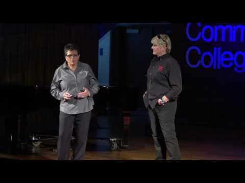 Women with a Mission | Laura Serway & Cindy Seymour | TEDxOnondagaCommunityCollege