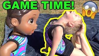 BABY ALIVE BREAKS her LEG! TRUTH or DARE!  The Lilly and Mommy Show! The TOYTASTIC Sisters