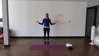 Align's YWLT Stretch with Holly
