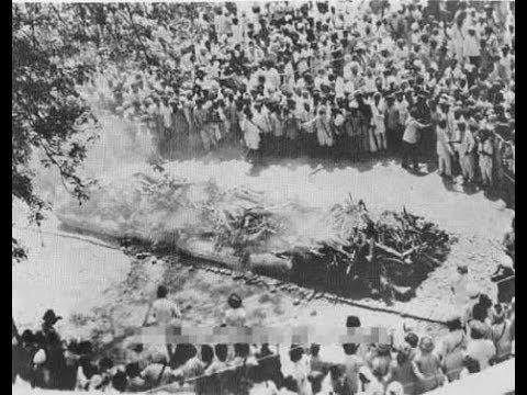 Dr B R Ambedkar's MahaPariNirvan Day 6th Dec 1956