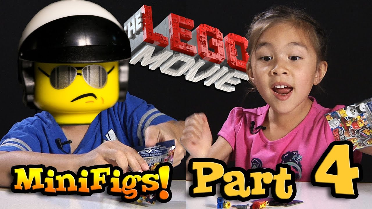 Lego Movie Minifigures Box Of Blind Bags Opening Part
