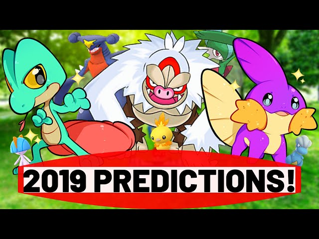2019 Community Day Predictions for Pokemon GO!