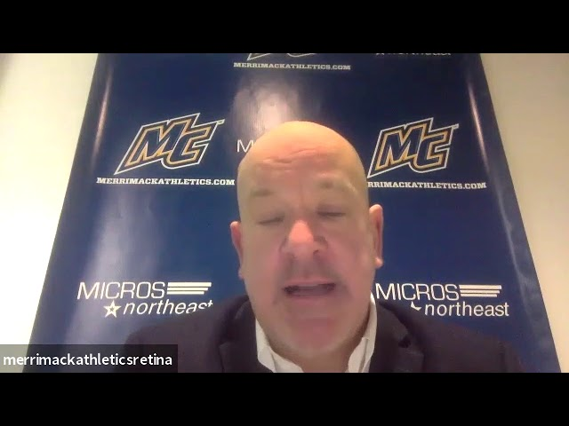 Merrimack's Head Coach Scott Borek Postgame - Jan. 17 vs Boston College
