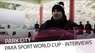 The day before the race in Park City | IBSF Para Sport Official