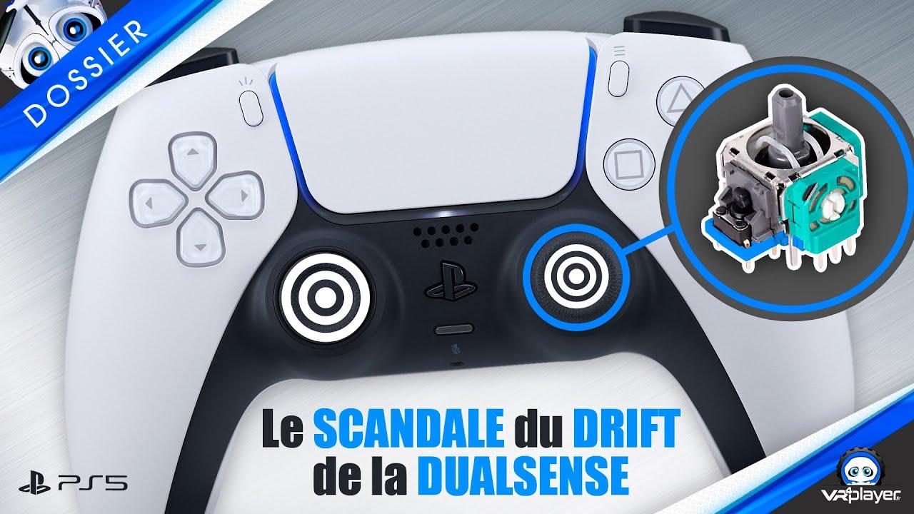 PS5 : Le SCANDALE du DRIFT de la DUALSENSE SONY !!!