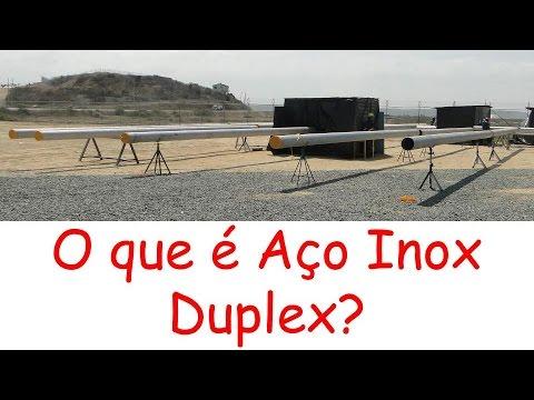 Solda TIG - Soldagem de Tubos em aço Inox DUPLEX - Parte 2 de 5 - O que é DUPLEX?