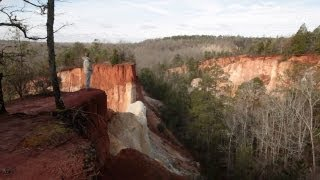Providence Canyon State Park in Lumpkin, GA with Road Trip Sto…